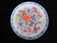Flowers of Holland Bouquets of the World Danbury Mint Collectors Plate