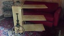 Carro barra móvil mesa pequeña mesa años 60 diseño aldo tura diseños fornasetti