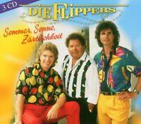 """DIE FLIPPERS """"SOMMER SONNE ZÄRTLICHKEIT"""" 3 CD BOX NEU!!"""