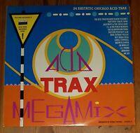 Various – Acid Trax Megamix Volume 1 Vinyl LP Album Comp Mixed 1988 33rpm