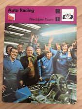 Sportcaster Rencontre Sports Card - Auto Racing - The Ligier Team!