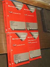 1997 CORVETTE  FACTORY GM REPAIR SERVICE 4 MANUAL SET UPDATED SUPPLEMENT