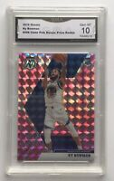 2019-20 Mosaic Pink CamoKy Bowman  Prizm Rookie Card #206 RC GMA 10 Gem Mint