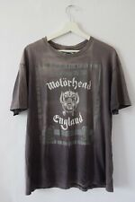 New listing Vintage Rare 1988 Motorhead England No Sleep At All Distressed Faded T Shirt Vtg