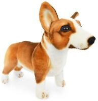 Caerwyn the Pembroke Welsh Corgi | 18 Inch Large Stuffed Animal Plush Dog