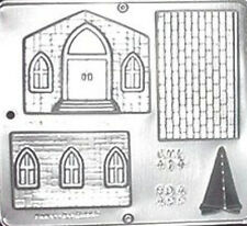 Church Assembly Religious Chocolate Candy Mold   414 NEW