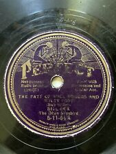 Perfect 78 RPM 5-11-54 Bill Cox THE FATE OF WILL ROGERS AND WILEY POST