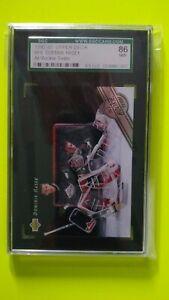 Dominik Hasek 1992-93 Upper Deck All Rookie Team SGC 86 NM+ Buffalo Sabres HOF