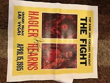 """Tommy Hearns Marvin Hagler """"The Fight""""/on Canvas"""