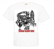 La MORTE T-shirt Scream BLOODY Gore Death Metal