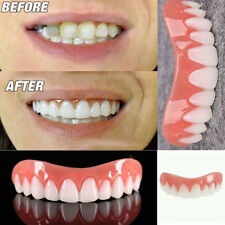 Silicone Men Women Perfect Smile Instant Teeth Flex Veneers Denture Paste Beauty