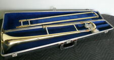 Yamaha YSL354 Trombone with case. Missing mouthpiece.  Requires Service.