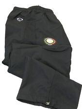 Nuevos Nike de Hombres Inter Milan Football Club Chándal Pantalón Negro Mediano
