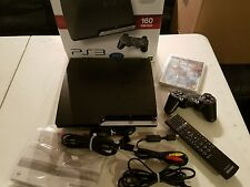 Sony PlayStation 3 Slim (CECH-2501A) PS3 160GB Video Gaming Console UNCHARTED 2