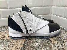 Nike Air Jordan 16 XVI Retro White Midnight Navy Basketball SZ 12.5 683075-106