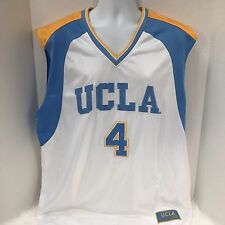 UCLA Bruins Basketball Colosseum Jersey #4 Sewn Logos XL Xtra Large Tank Top GUC