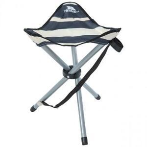 Trespass Ritchie Folding Tripod Stool & Carry Bag Packable Camping