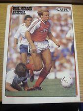 1988/1989 Revista Foto Autografiada: Arsenal-Merson, Paul. si el artículo ha