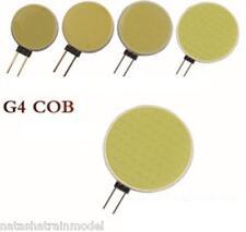 Lampada faretto G4 LED COB 12 Volt 3200K 5500K caldo o solare 18 30 63 leds