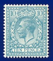 1913 SG394 10d Pale Turquoise-Blue N31(-) Unlisted Hendon shade MNH agkt