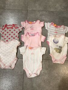 Baby Girl Vests Size 3-6 Months