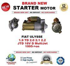 Per FIAT ULYSSE 1.9 TD 2.0 2.2 Multijet 16 V D Multifiamme 2.1 95 - > Motore di Avviamento 13 DENTI