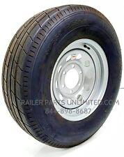 "4) 15"" Trailer Tire Wheel ST225/75R15 10ply Radial 225x75x15 LRE 6 Lug 2,830 cap"