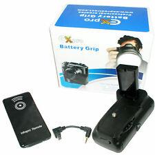 Ex-Pro® Power Grip & 2 x EN-EL14 for Nikon D3100 D3200 IR Remote Shutter Release