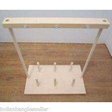 Bobbins Holder Rack Stand - Warping - Weaving Loom