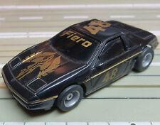 für H0 Slotcar Racing Modellbahn --  Pontiac Fiero mit Tyco Chassis