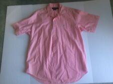 Ralph Lauren Men's Large Blake Pink Long Sleeve Button-Down Shirt Logo