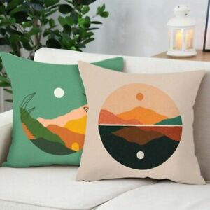 Nordic Pillowcase Abstract Pattern Pillow Case Soft Home Sofa Throw Pillow Cover