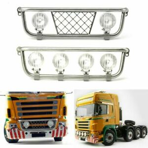 LESU Metal LED Headlight Light Bar for 1/14 TAMIYA Scania R470 R620 Dump Truck