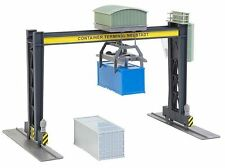 Container terminal, bridge crane, plastic model kit, HO 1/87, Faller 131306