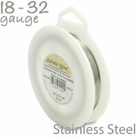 Stainless Steel Artistic Wire 1/4LB Spool - Tarnish Resistant Craft Wire