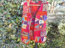 RARE GILET BABA COOL ARTISANAT PEACE AND LOVE T 42 NEPAL ? 65€ ACH IMM VINTAGE +