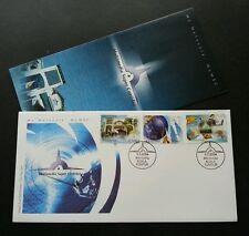 Multimedia Super Corridor (MSC) Malaysia 2004 KLCC Tower IT Network (stamp FDC)