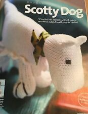 KNITTING PATTERN Rowan Scotty Dog Toy Doll 16cm Tall PATTERN