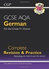 New GCSE German AQA Complete Revision & Practice (with CD & Online Edition) - ,