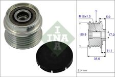 INA Over Running Alternator Clutch Pulley 535 0005 10 535000510 - 5 YR WARRANTY