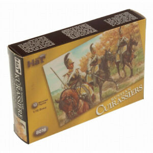 Napoleonic Russian Cuirassiers & Horses (24) 1/72 Hat. Shipping Included