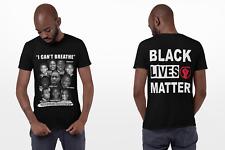 Black Lives Matter T Shirt I Cant Breathe T-Shirt George Floyd T Shirt