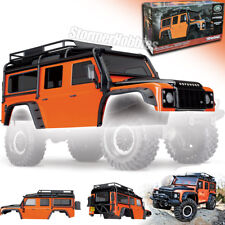 Traxxas 8011A TRX-4 Land Rover Defender Adventure Edition Orange Painted Body
