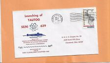 U.S.S. TAUTOG SSN 639 APR 15,1967 PASCAGOULA  MS   LAUNCHING
