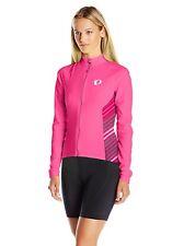 Pearl Izumi Womens Select Pursuit Thermal Long Sleeve Cycling Jersey Pink Medium