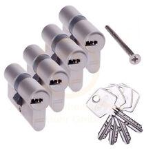 4 gleichschließende ABUS EC550 Profilzylinder Schließzylinder 4 Schlüssel N+G
