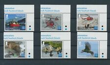 LM11701 South Georgia helicopters animals fauna flora fine lot MNH