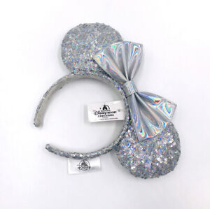 Mouse Magic Mirror Silver Cinderella 2020 Minnie Ears Disney Parks Headband