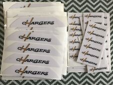 Full Size San Diego chargers Football Helmet Bumper Decal Set
