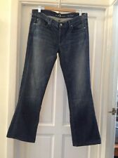 ALL MAN KIND seven LADIES Bootcut Denim Jeans . WAIST 36 Ins